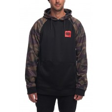 686 Men's Knockout Bonded Fleece Pullover DARK CAMO (S)