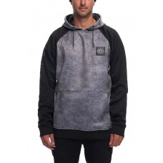 686 Men's Knockout Bonded Fleece Pullover CHARCOAL WASH (L)