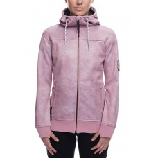 686 Women's Ella Bonded Zip Fleece Hoody (XS S M)