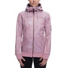 686 Women's Ella Bonded Zip Fleece Hoody (XS S M)