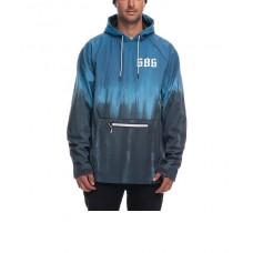 686 Men's Waterproof Hoody Bluesteel Tie Dye (M XL)