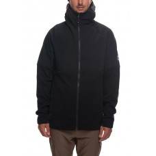 686 Men's GLCR Fusion Softshell Tech Fleece Black (L)