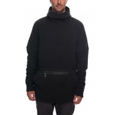 686 Men's GLCR Knit Tech Fleece Hoody Black (M)