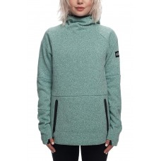 686 Women's GLCR Knit Tech Fleece Hoody SEAGLASS MELANGE (XS)