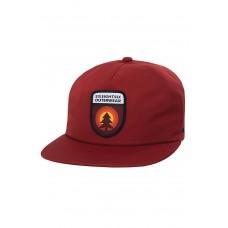 686 Men's Waterproof Tree Life Snapback Hat Rusty Red