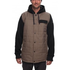 686 Men's Bedwin Insulated Jacket KHAKI MELANGE (S  L XL)