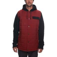 686 Men's Bedwin Insulated Jacket RUSTY RED (S M L)