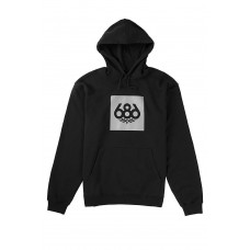 686 Men's Knockout Pullover Hoody Black (S M L XL XXL)