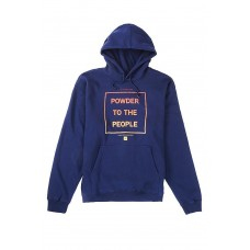 686 Men's Powder Pullover Hoody Navy (S)