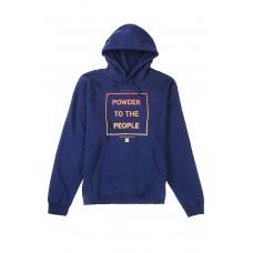 686 Men's Powder Pullover Hoody Navy (S XL)