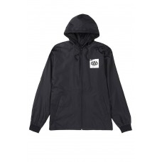 686 Men's Powder Zip Coaches Jacket Black (S M L XL)