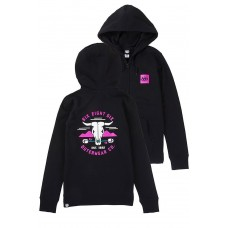 686 Women's Rebel Zip Hoody Black (S M L XL)