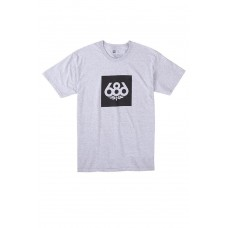 686 Men's Knockout S/S Heather T-krekls (S XXL)