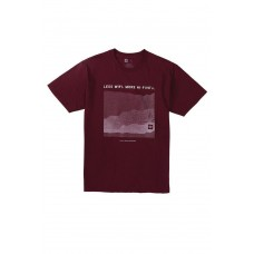 686 Men's Hi-Five S/S Maroon T-krekls (S)