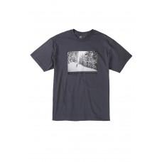686 Men's Landscape S/S Charcoal T-krekls (XXL)