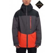 686 Men's GLCR GORE-TEX® GT Jacket INFRARED COLORBLOCK  (S M)