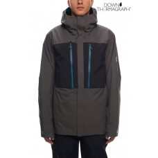 686 Men's GLCR Ether Down Thermagraph® Jacket CHARCOAL COLORBLOCK (M)