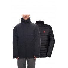 686 Men's SMARTY® 3-in-1 Form Jacket BLACK (M)