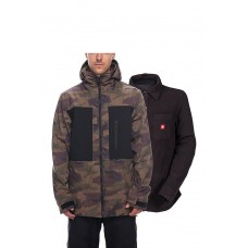 686 Men's SMARTY® 3-in-1 Phase Softshell Jacket DARK CAMO COLORBLOCK (M)