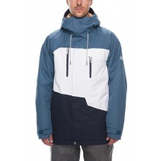 686 Men's Geo Insulated Jacket BLUESTEEL COLORBLOCK (S)