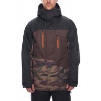 686 Men's Geo Insulated Jacket  DARK CAMO COLORBLOCK (S  L)