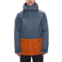 686 Men's Anthem Insulated Jacket  BLUESTEEL MELANGE COLORBLOCK (M)