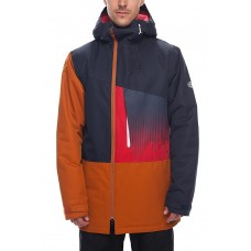 686 Men's Icon Insulated Jacket  NAVY COLORBLOCK (L)