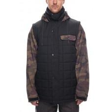 686 Men's Bedwin Snow Insulated Jacket DARK CAMO COLORBLOCK (M)