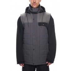 686 Men's Bedwin Snow Insulated Jacket CHARCOAL COLORBLOCK (S)