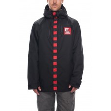 686 Men's Target Jacket BLACK SUBLIMATION (XL)