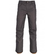 686 Men's Raw Insulated Pant BLACK DENIM  (XL)