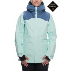 686 Women's GLCR GORE-TEX® Wonderland Insulated Jacket SEAGLASS COLORBLOCK  (S)