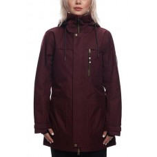 686 Women's Spirit Insulated Jacket WINE MELANGE SUBLIMATION (S )
