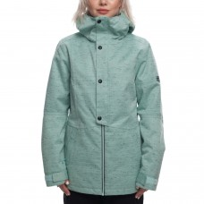686 Women's Rumor Insulated Jacket SEAGLASS SLUB (XS M)