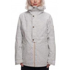 686 Women's Rumor Insulated Jacket WHITE SLUB (XS, S)