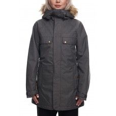 686 Women's Dream Insulated Jacket GREY MELANGE (S, M)