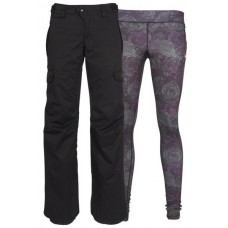 686 Women's SMARTY® 3-in-1 Cargo Pant BLACK  (XS)