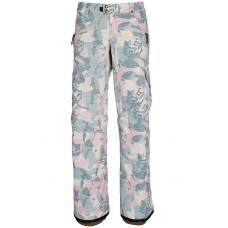 686 Women's Mistress Insulated Cargo Pant CAMO LEAF (XS)