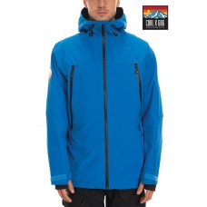 686 x Coal Men's Sunrise Shell Jacket STRATA BLUE (M)