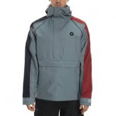 686 Men's Catchit Anorak Track Shell Jacket GOBLIN BLUE (M)