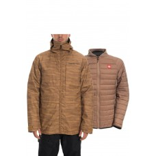 686 Men's SMARTY® 3-in-1 Form Jacket GOLDEN BROWN LANDSCAPE (M)