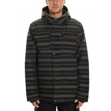686 snovborda jaka Woodland Insulated Jacket SURPLUS GREEN STRIPE (M)