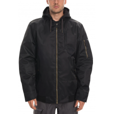 686 Men's Bomber Insulated Jacket Black Satin  (M)