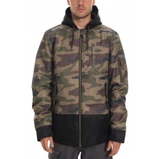 686 Men's Bomber Insulated Jacket DARK CAMO COLORBLOCK  (M)