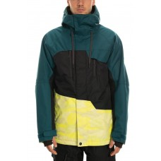 686 Men's Geo Insulated Jacket  SULPHUR CAMO COLORBLOCK (M)