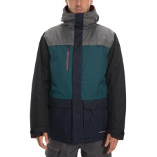 686 Men's Anthem Insulated Jacket  GREY MELANGE COLORBLOCK (M)