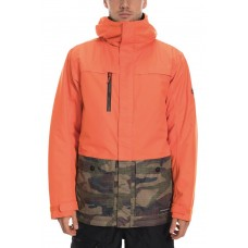 686 Men's Anthem Insulated Jacket  SOLAR ORANGE COLORBLOCK (M)