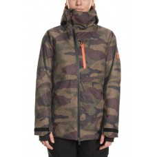 686 Women's GLCR Hydra Insulated Jacket DARK CAMO (S)