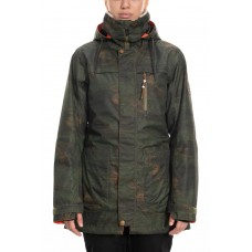 686 Women's Spirit Insulated Jacket SURPLUS GREEN BLANKET (S )