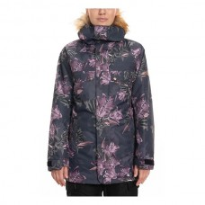 686 Women's Dream Insulated Jacket BLACK TIGER LILY (S)